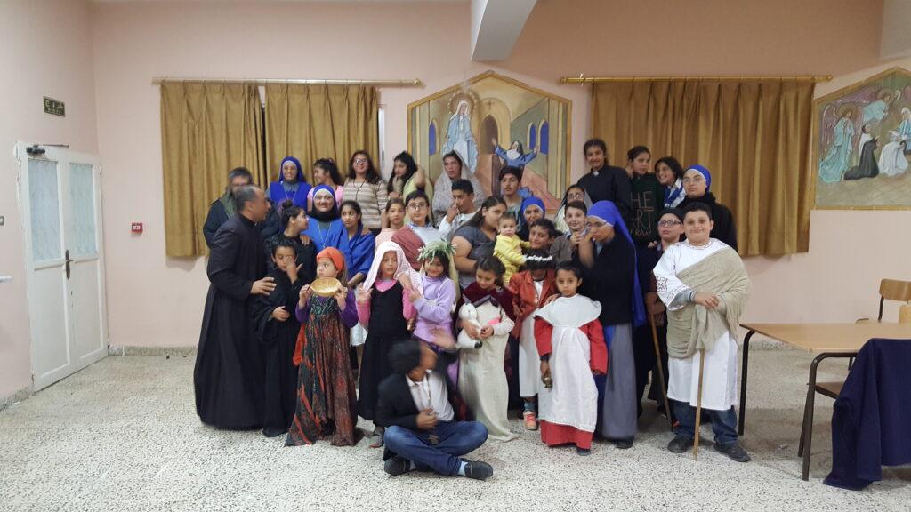 عيد جميع القديسين في عنجرة – الاردن
