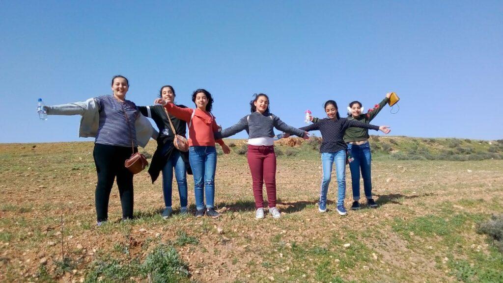 مخيم للفتيات في رعية سيدة الزيارة في عنجرة – الأردن
