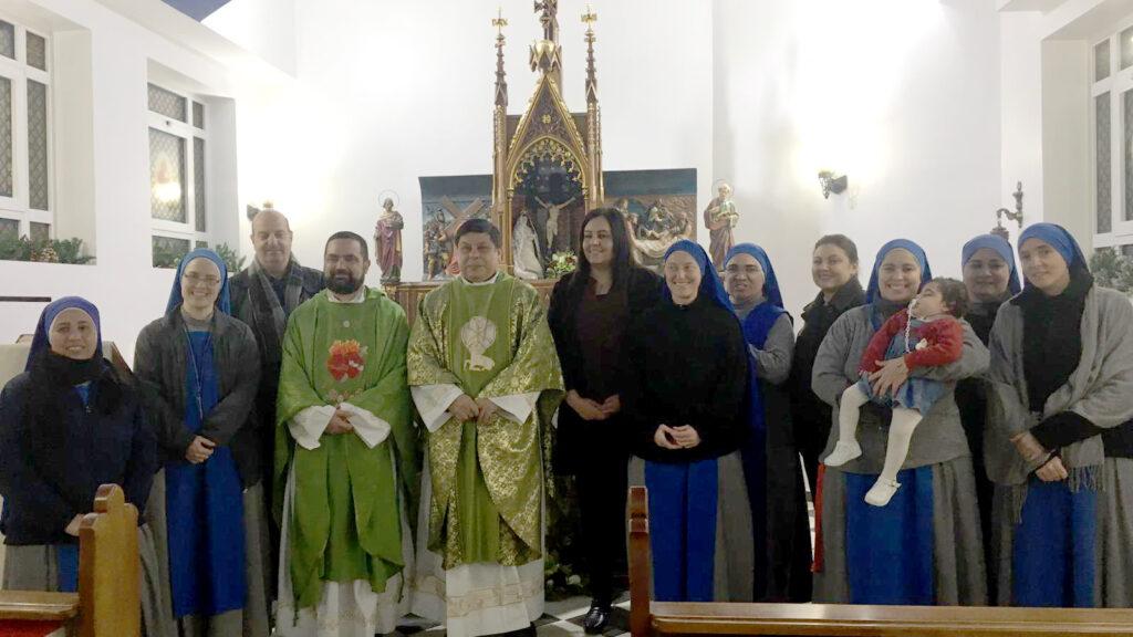 الانضمام الرسمي للسيدة رنا الاطرش في الرتبة العلمانية الثالثة في بيت لحم