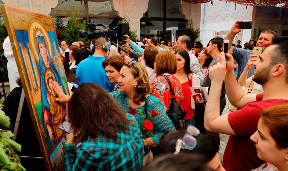 Fiesta de Nuestra Señora del Monte, Anjara – Jordania