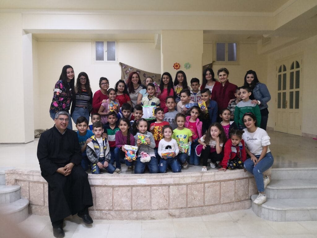 You are currently viewing اخبار من كنيسة البشارة: الميدان، حلب – سوريا