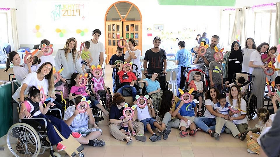 معسكر بيت الطفل الالهي في بيت ساحور – فلسطين