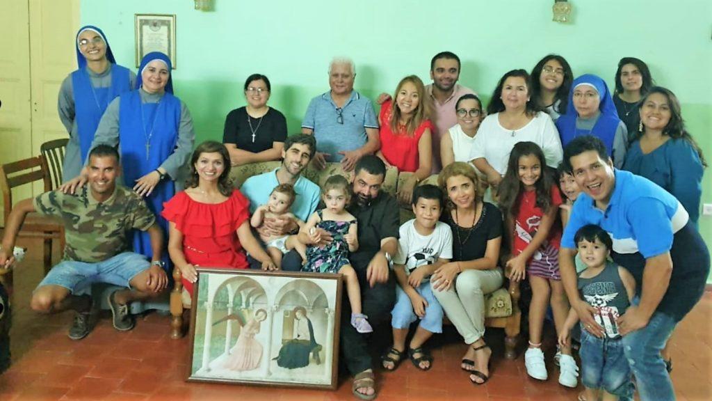 حفلة وداع الاب بولس دي سانتو