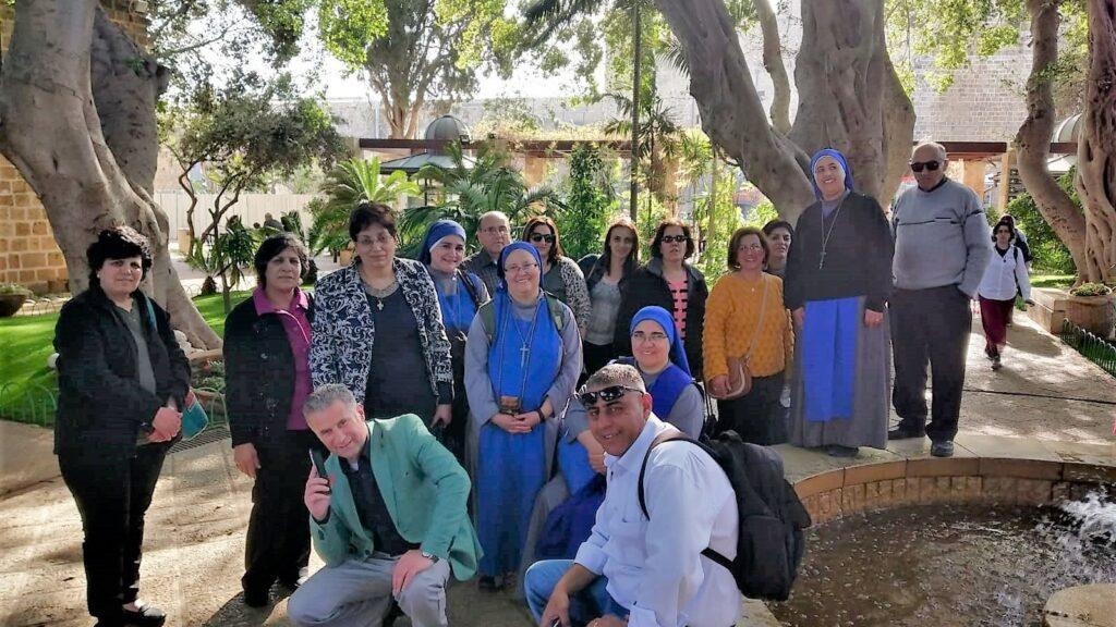رحلة مع موظفي اكليركية (سمنير) البطريركية اللاتينية