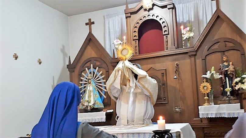صلاة الفرض الالهي والقداس الالهي تكريما لمريم العذراء سيدة لوخان في حلب – سوريا