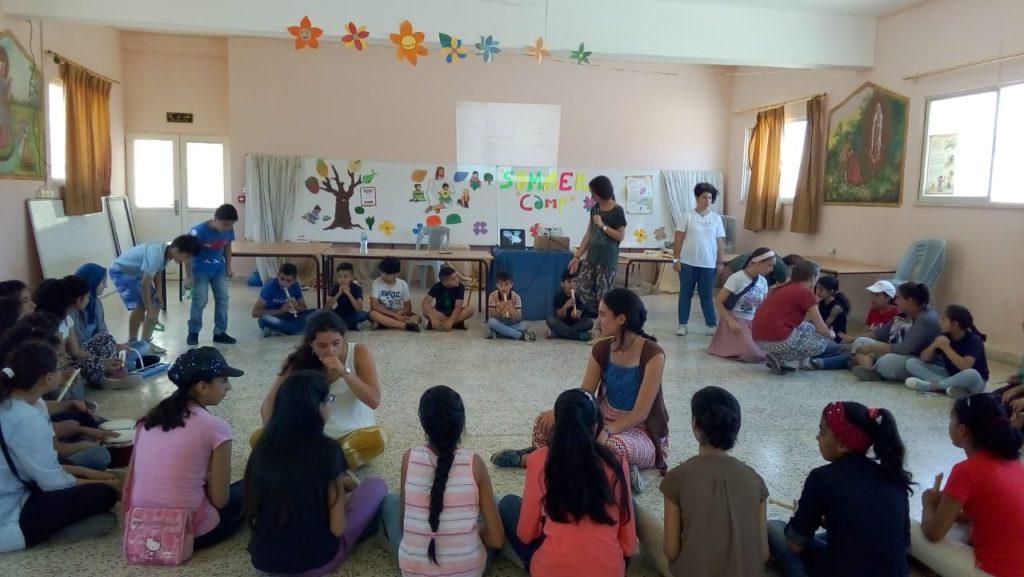 المدرسة الصيفية في عنجرة – الاردن