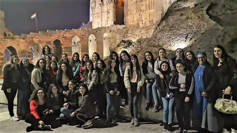 زيارة الى قلعة حلب – سوريا