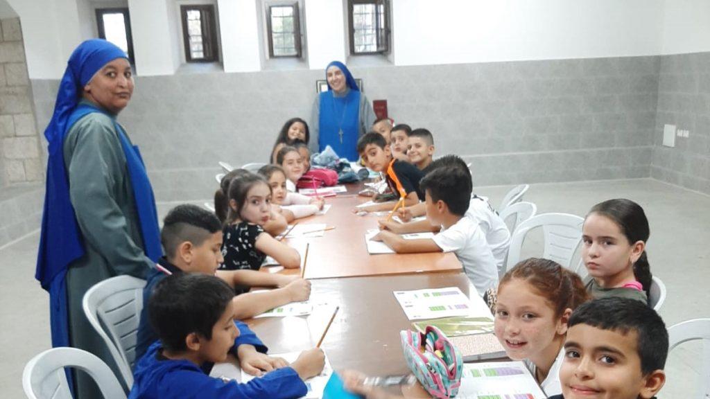 بدء نشاطات مدارس الاحد في يافا