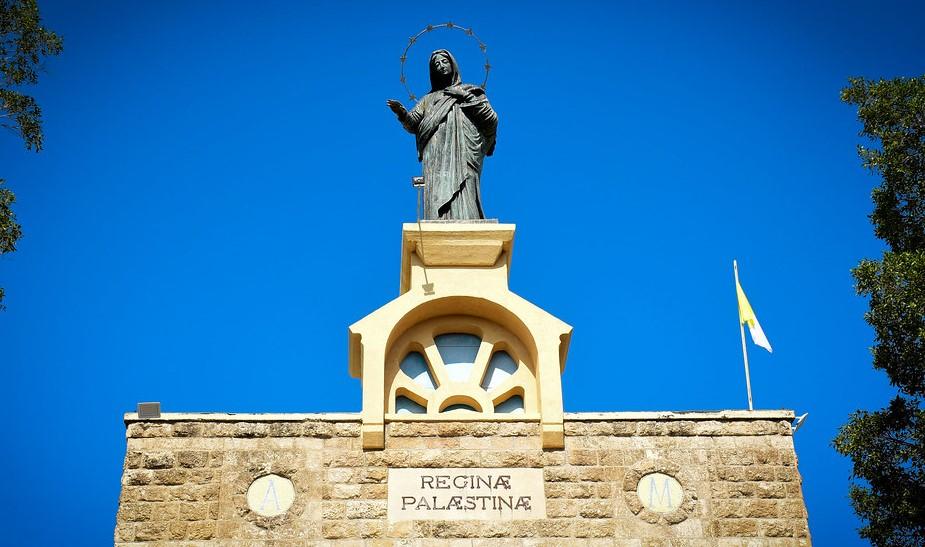 الاحتفال بعيد العذراء سيدة فلسطين في دير رافات بمدينة القدس