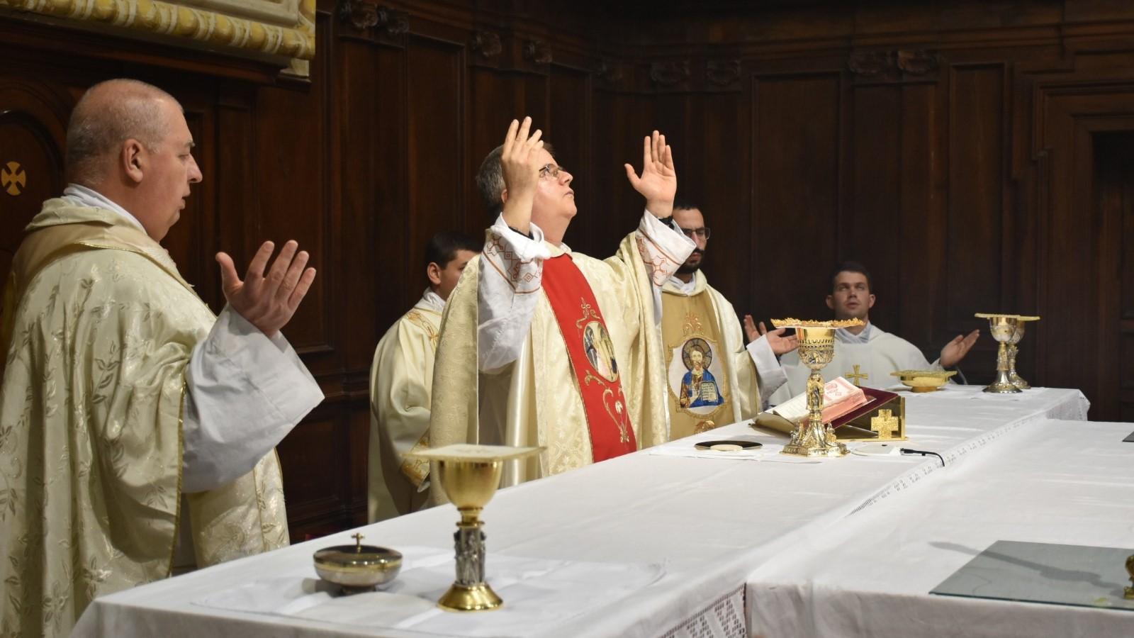 Misa en árabe con ocasión de la fiesta de San Juan Damasceno en Italia