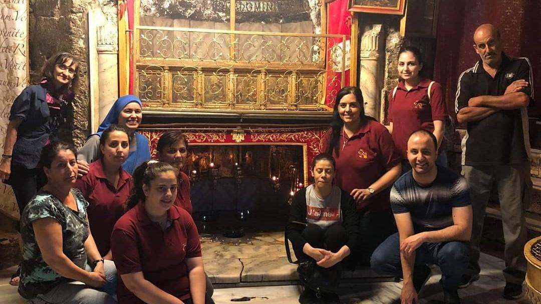 Visita la Basílica de la Natividad en Belén
