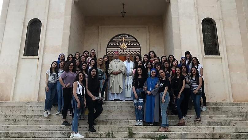 Fiesta de María Auxiliadora en Alepo, Siria
