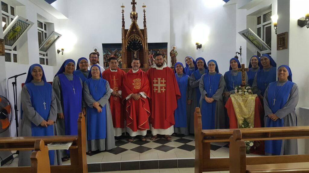عيد ارتفاع الصليب المقدس في الأرض المقدسة