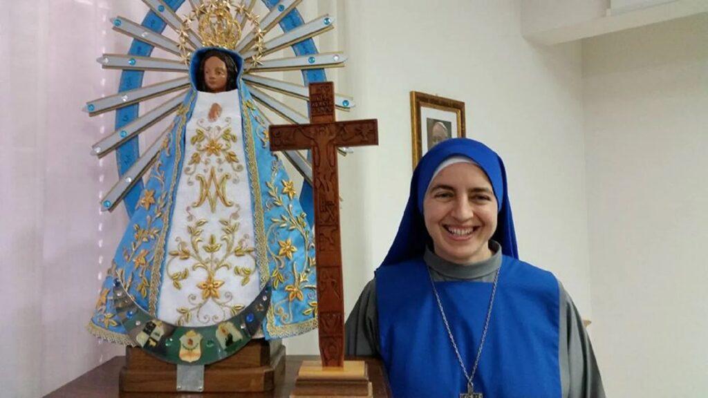 Saludos de la Madre Corredentora, Superiora General de las SSVM, en el 25º aniversario de la Provincia «Nuestra Señora de los Dolores» en Tierra Santa