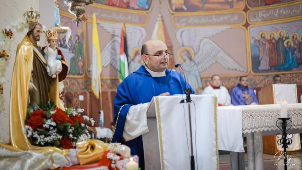 عيد القديس يوسف في غزة – فلسطين