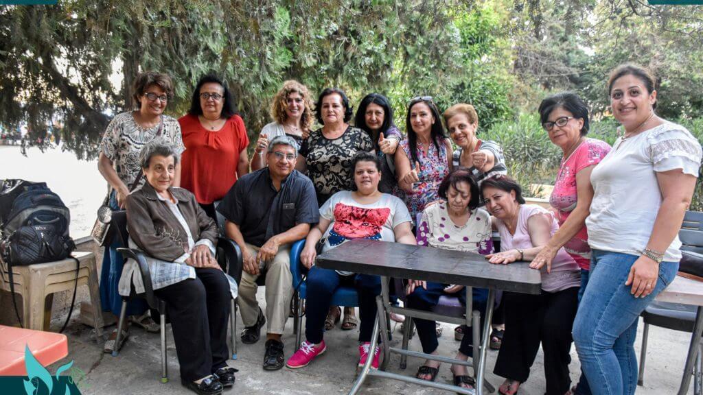 Lee más sobre el artículo Actividad especial para ancianos y personas con situaciones sociales especiales en Alepo – Siria