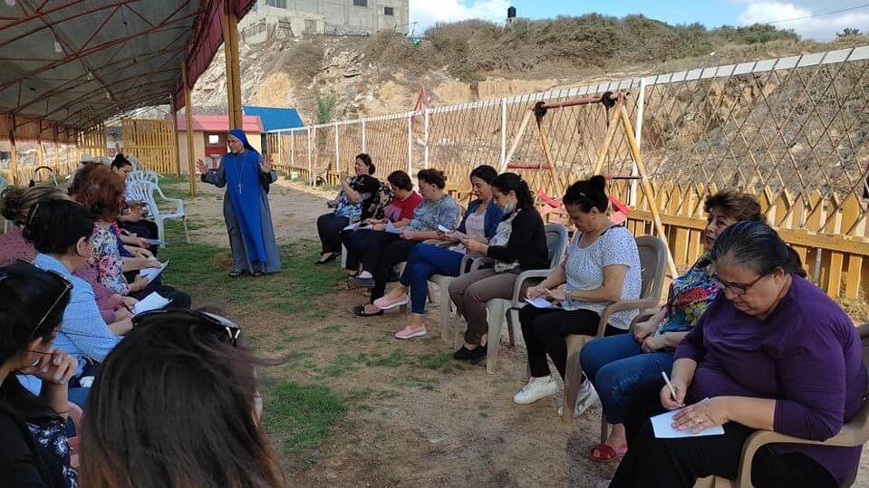 You are currently viewing رحلة ترفيهية لمجموعة القديسة حنه في غزة
