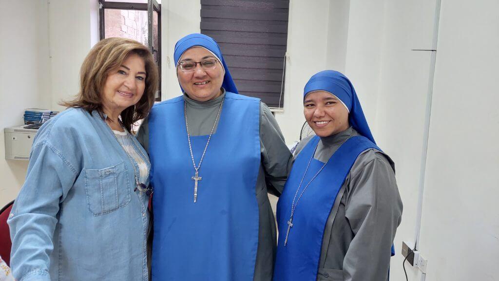 نشاطات رعية قلب يسوع الاقدس في عمان  خلال الاسبوع الماضى