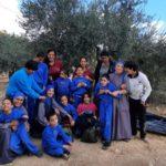 قطف الزيتون مع اطفال بيت الطفل الالهي في بيت لحم